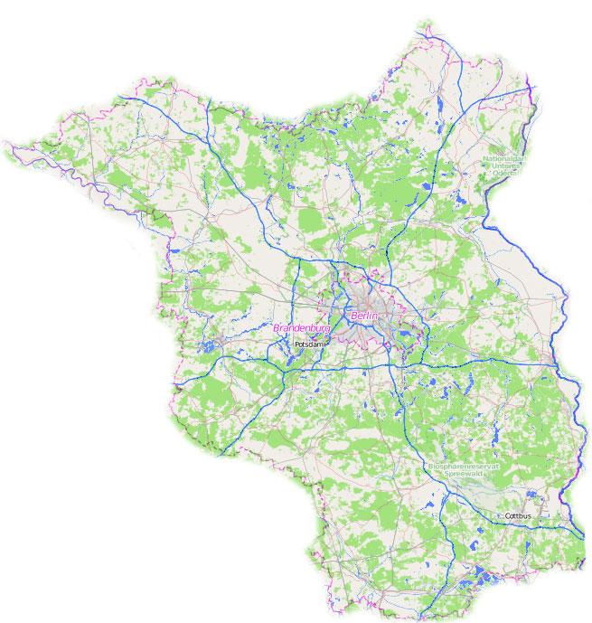 Bundesland Brandenburg In Geografie Schulerlexikon Lernhelfer