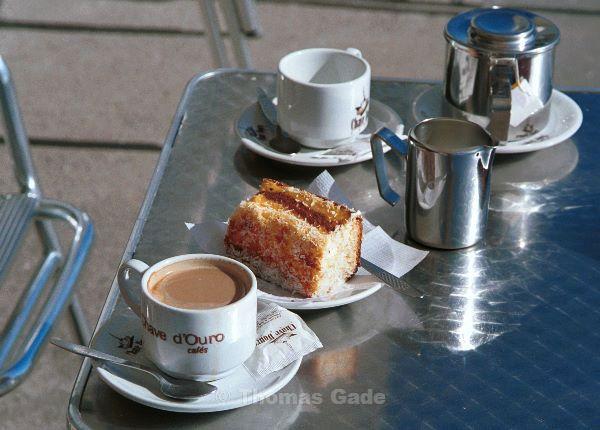 Kaffee und Kuchen mit Ausblick