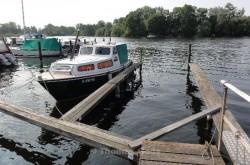 Der Liegeplatz am Tegeler See