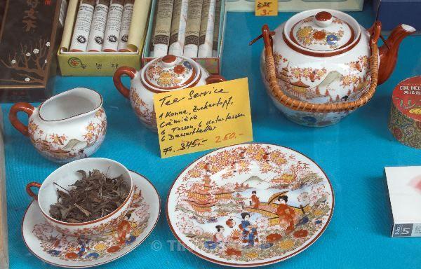 Ein besonders 'günstiges' Teeservice