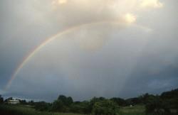Nicht immer gerne gesehen: Der Regenbogen