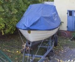 Das Boot ist an Land