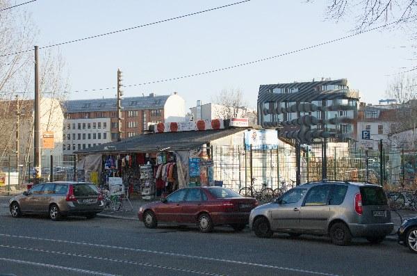 Berlin. Berlin-Mitte. Oranienburger Straße