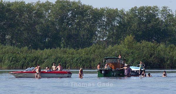 Badestelle - Untiefe in der Havel