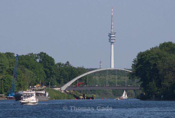 Sacrow-Paretzer-Kanal kuz or dem Jungfernsee