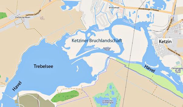 Trebelsee bei Ketzin