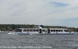 MS Lichterfelde auf dem Wannsee