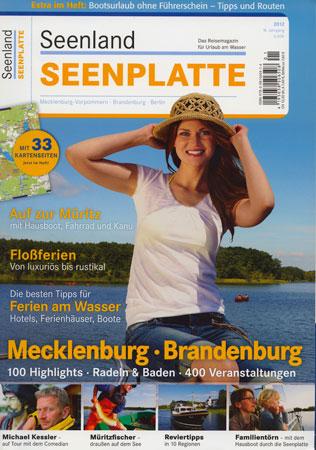 Seenland Seenplatte 2012 - Reisemagazin