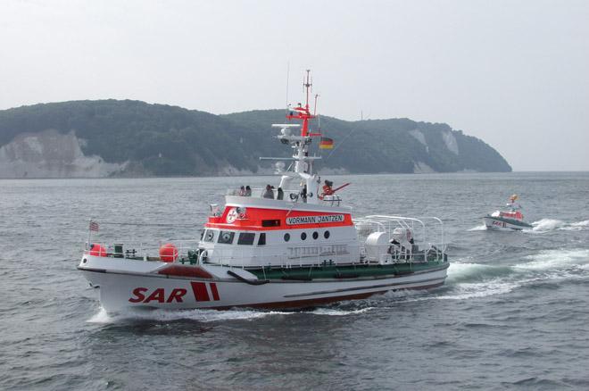 Seenotkreuzer VORMANN JANTZEN der DGzRS