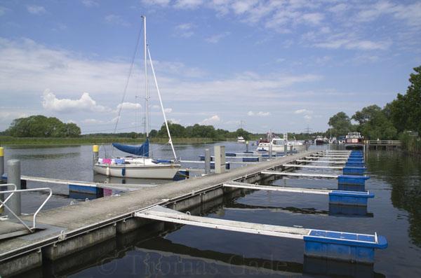 Stadtanleger für Sportboote in Ketzin