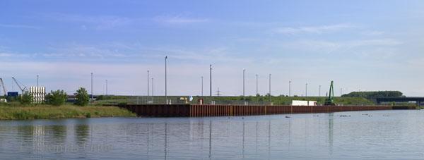 HavelPort Berlin - Hafen Wustermark. Nichts los!