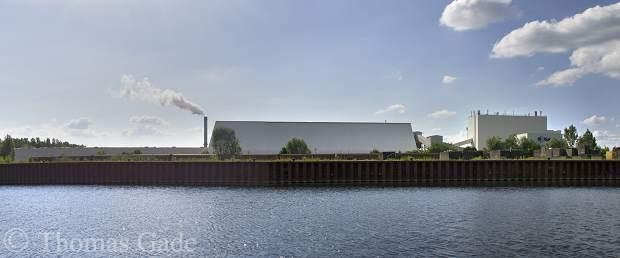 Havelkanal bei Brieselang. Rigips-Werk
