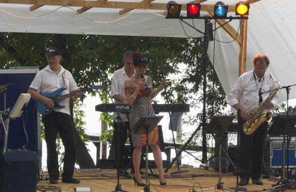 Livemusic auf der Bühne