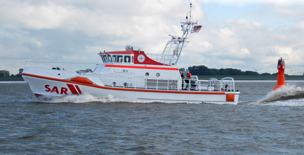 Seenotkreuzer SK 34 - noch ohne Namen