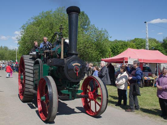 Dampfmaschine im Ziegeleipark