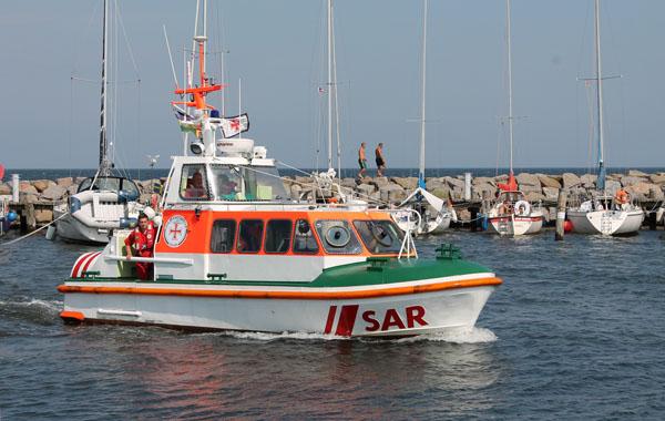 Seenotrettungsboot GÜNTHER SCHÖPS der Deutschen Gesellschaft zur Rettung Schiffbrüchiger (DGzRS)