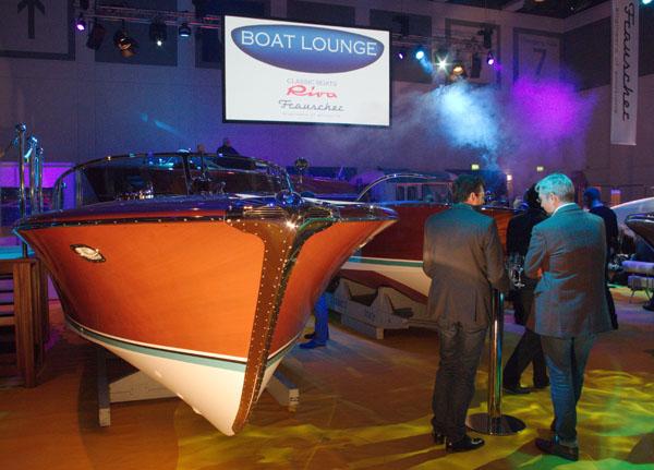 25. 11. 2015. Berlin. Boot & Fun. Bootsmesse. Riva und Frauscher. Gala-Nacht der Boote