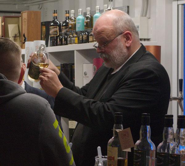 2015. Berliner Bootsmesse. Whisky Verkostung