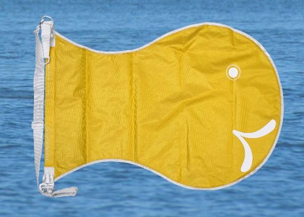 Wickelfisch. Wasserdicht und auffällig
